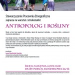 Antropolog irośliny
