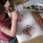 Techniki graficzne – Etnografia dla najmłodszych wOtwocku