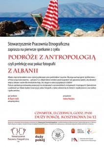 zaproszenie: Podróże zantropologią. Albania