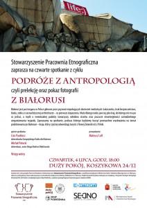 Podróże zantropologią. Białoruś