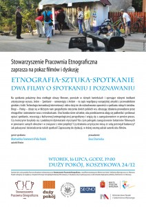 Zaproszenie Etnografia-sztuka-spotkanie