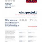 Wernisaż wystawy uczestników Etno-projektu