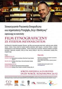 Warsztaty filmu etnograficznego zeSteefem Meyknechtem