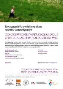 Zaproszenie naspotkanie 9.01.2014