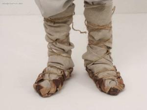 strój podlaski-nadbużański, postoły