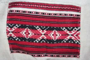 strój podlaski-nadbużański, perebory