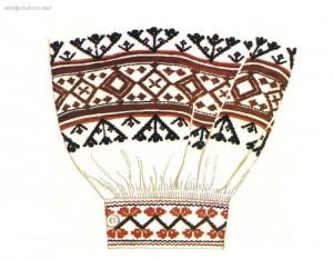 strój podlaski-włodawski, perebory