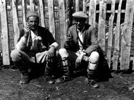 Józef Obrębski w terenie, macedońskie Porecze 1932