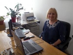 Danuta, dyrektorka Biblioteki wKoczani
