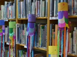 Dzień dziecka w Japonii w bibliotece, fot. Joanna Kościańska