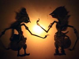 Jawajski teatr cieni, fot. Anna Stępień