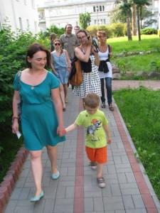 spacer Przyrodnicza Warszawa