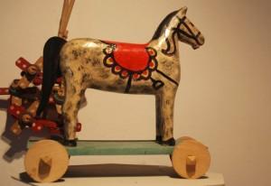 Kolbuszowa, Zabawka – koń nakółkach
