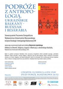 Podroże zantropologią. Ukraińskie Bałkany - Budziak iBesarabia