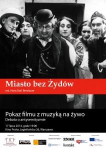 """""""Miasto bezŻydów"""", reż. H. K. Breslauer"""