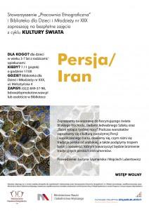 Etnografia dla najmłodszych - Persja/Iran