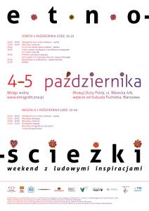 Etnościeżki – Weekend zludowymi inspiracjami