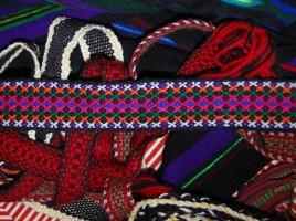 Warsztaty tkania krajek w 2013 roku. fot. Alina Dołżikowa