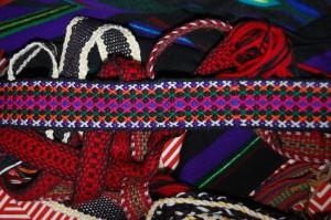 Warsztaty tkania krajek w2013 roku. fot.Alina Dołżikowa
