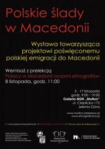 """Wystawa """"Polskie ślady wMacedonii"""" wJeleniej Górze"""
