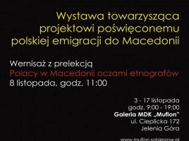 """Wystawa """"Polskie ślady w Macedonii"""" w Jeleniej Górze"""