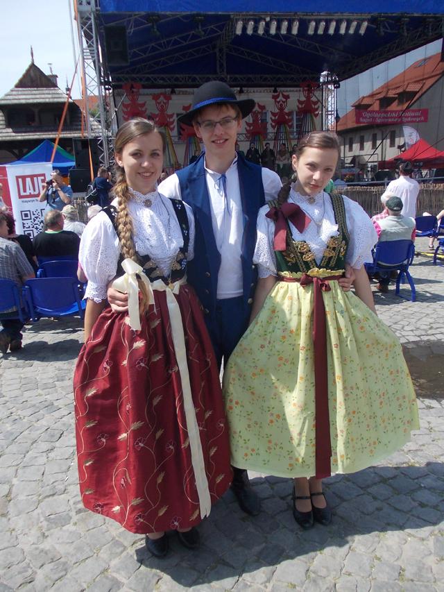 """Zespół Regionalny """"Czantoria"""" z Ustronia. Ogólnopolski Festiwal Kapel i Śpiewaków Ludowych w Kazimierzu Dolnym, czerwiec 2014 r., fot. D. Kunecki"""