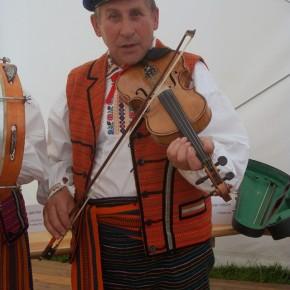 Kapela Jana Wochniaka z Wieniawy k. Przysuchy. Ogólnopolski Festiwal Kapel i Śpiewaków Ludowych w Kazimierzu Dolnym, czerwiec 2014 r., fot. M. Kunecka