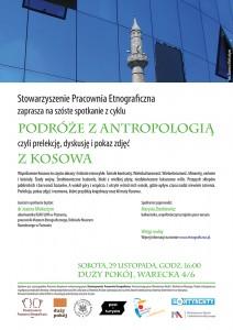 Podróże zantropologią. Kosowo