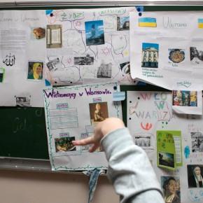 Zajęcia wSP nr166; fot.Katarzyna Paszkiewicz/SPE