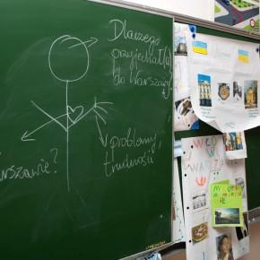 Zajęcia w SP nr 166; fot. Katarzyna Paszkiewicz/SPE