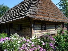 Chaty drewniane, fot. J.Kościańska