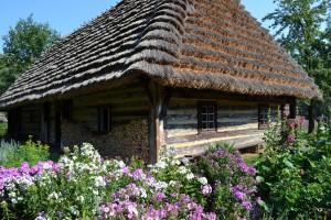 Chaty drewniane, fot.J.Kościańska