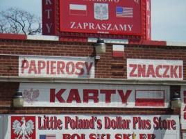 Sklep polski na Milwaukee Avenue, w Chicago. Zdjęcie Marta Sehn