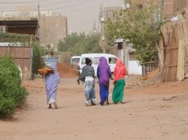 Fotografia dziewcząt w Chartumie