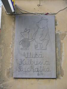 Tablica naulicy Kubusia Puchatka