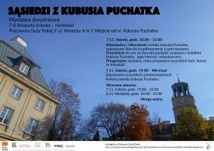 Projekt plakatu muzeum a7