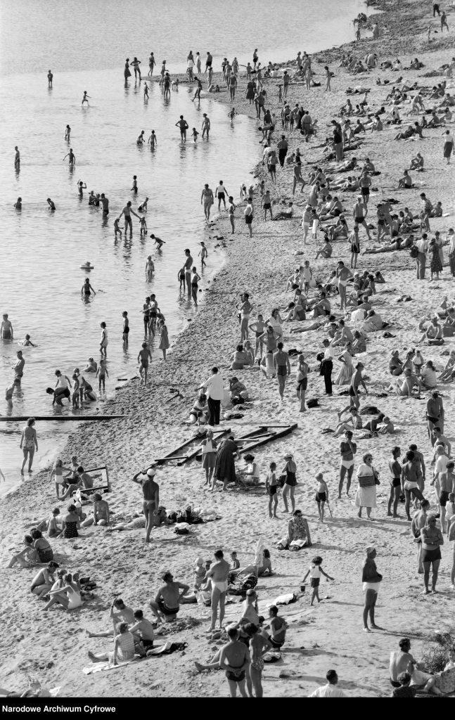 Plaża nadWisłą wWarszawie